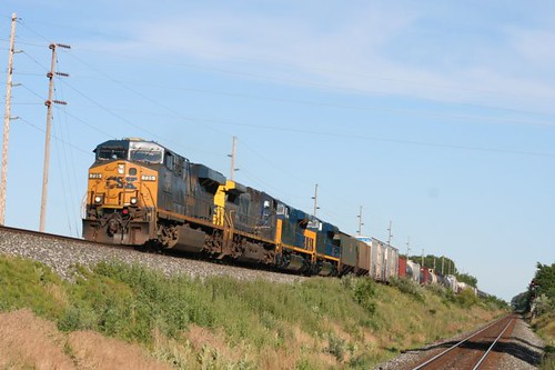 06/13/2012 CSX Train Q388 at State Line by Northeast Indiana Railfan