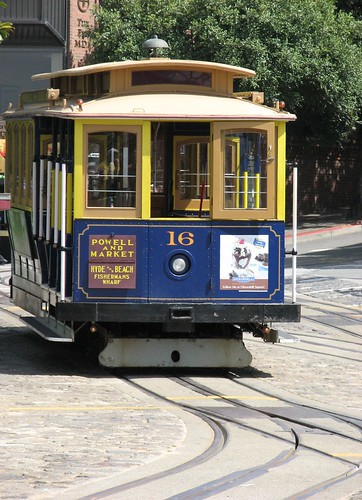 San Francisco Cable Car by Calzephyr