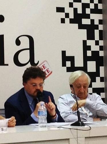 SalTo12 12MAY (08) Dan Octavian Cepraga e Dumitru Țepeneag