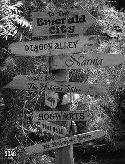 enchanted signpost