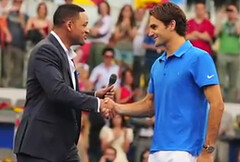 Will Smith Hearts Roger Federer