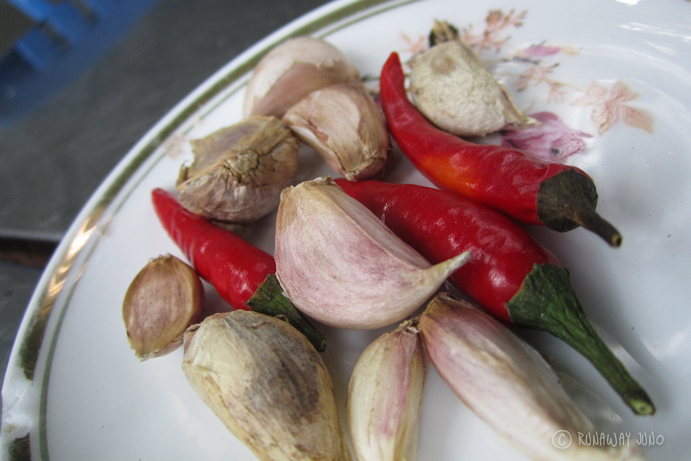 Garlic and Chili pepper