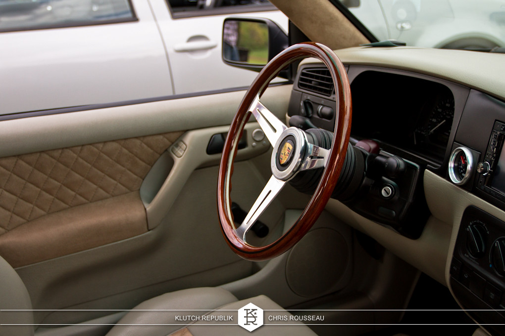 mk3 vw interior with woodgrain steering wheel at staggered 2012