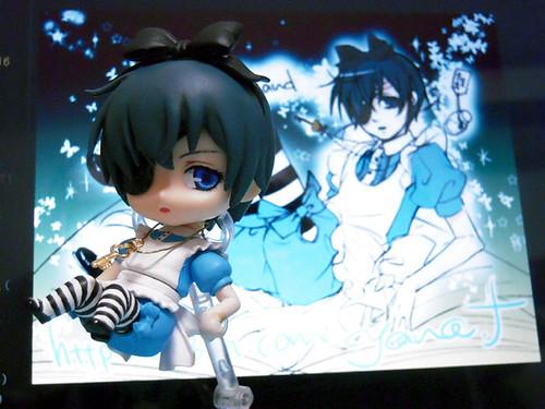 Custom Nendoroid Ciel: Alice version