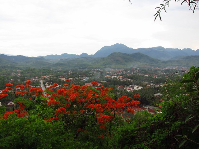 View of Luang Prabang by CC user fabulousfabs on Flickr