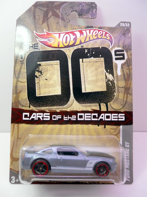 hot wheels cars of the decade  ford mustang gt(1)