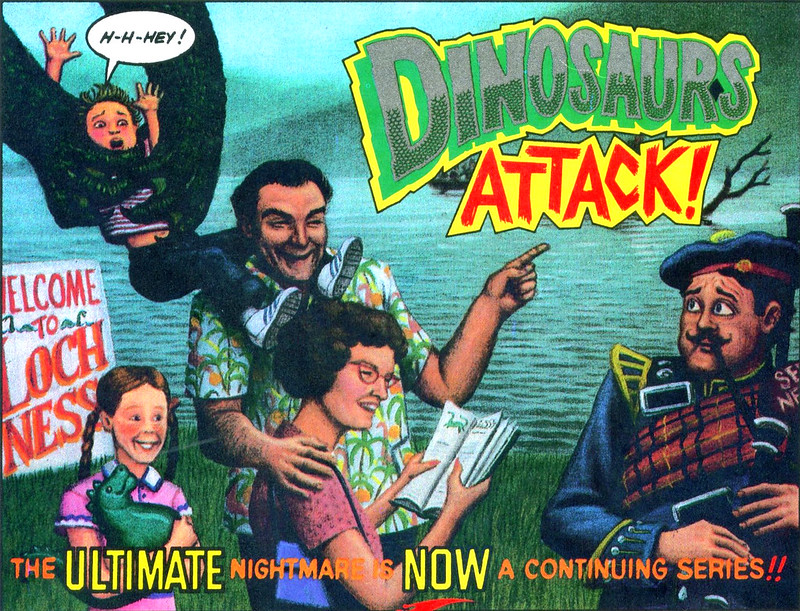 Dinosaurs Attack! Graphic Novel Art 4
