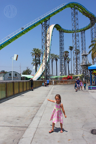 she is NOT going on that ride