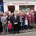 Friends and supporters in Dungarvan Eamon Gilmore