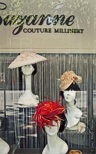 couture millinery by Alida's Photos