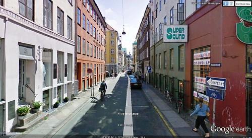 Copenhagen walking route view 2 (via Google Earth)