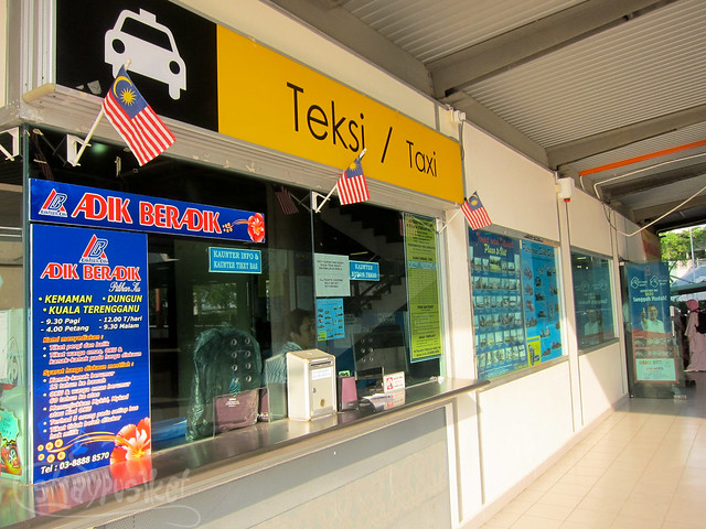 Putrajaya Taxi Counter