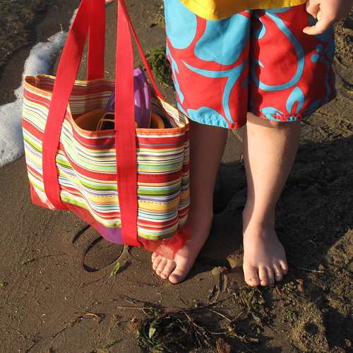 Leave the Sand at the Beach Bag