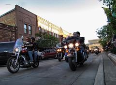 Parade Of Motorcycles
