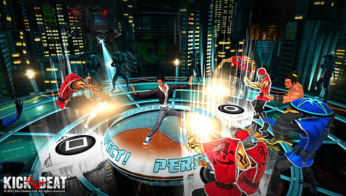 "Sony Announces ""Kickbeat"" for PS Vita"