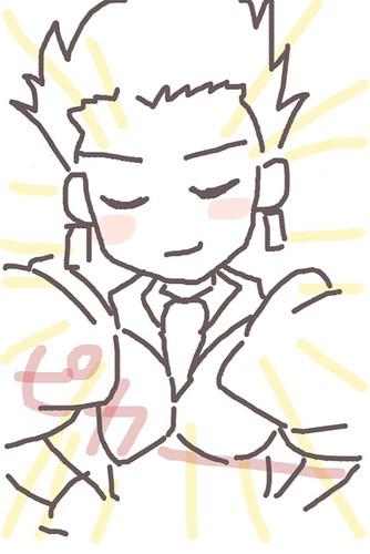 120526(2) - 聲優「恒松あゆみ」心血來潮畫出《Fate/Zero》所有角色的塗鴉、只有「久宇舞弥」發揮100%實力(笑) (7/18)