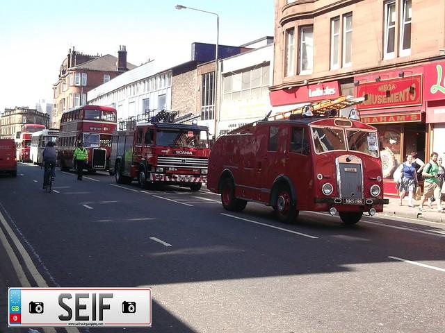 Ex Fire Brigade Parade Glasgow2012