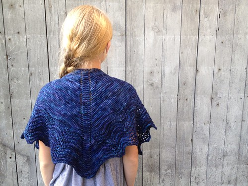 multnomah shawl for the girl