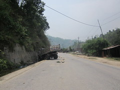 another crash on the Kathmandu-Pokhara highway