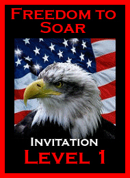 Freedom to Soar Level 1 Invitation