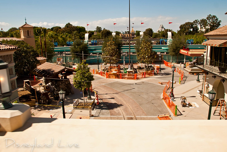 Buena Vista Street Construction