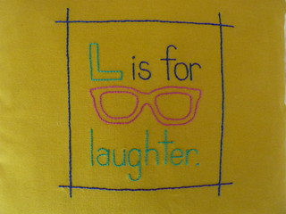 L is for laughter