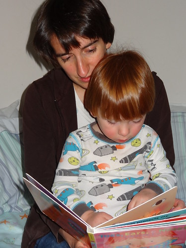 Rebecca and Archie Read Together