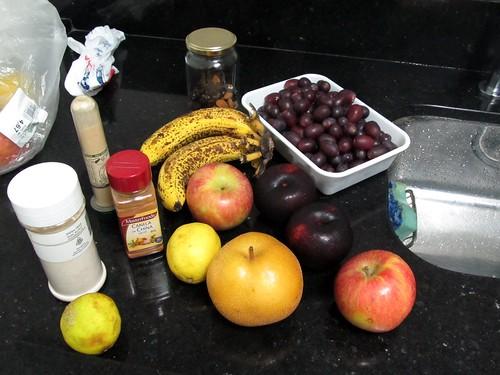 Frutas Separadas para a Salada