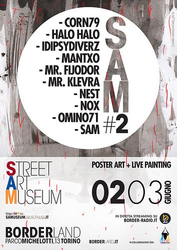 omino71 @ SAM #2 by OMINO71