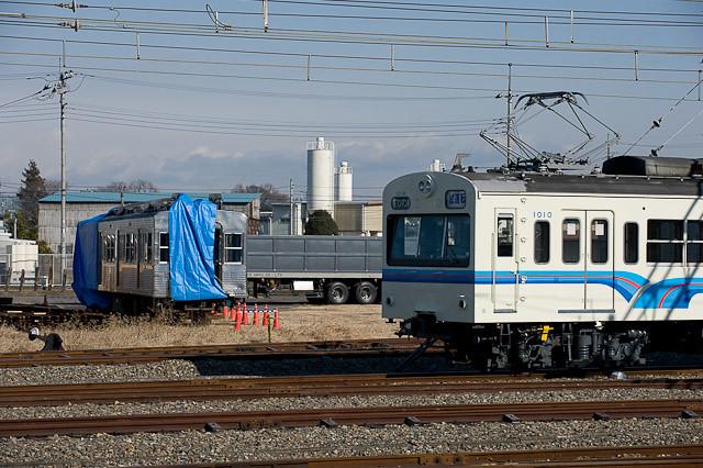 秩父鉄道 5000系 デハ5004と1000系1010F