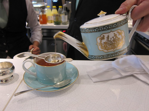 High Tea at the Fortnums Tea Room