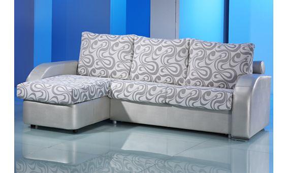 Sofas cama con chaise longue sofa convertible en cama de for Chaise lounge cama
