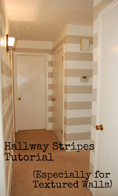 Hallway Stripes Tutorial