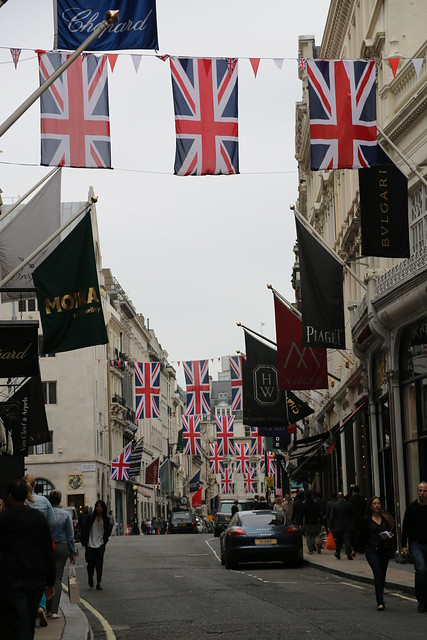 Jubilee in Mayfair - Bond Street