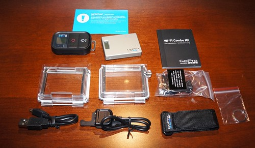 GoPro Wi-Fi Combo Kit (BacPac & Remote) unboxing