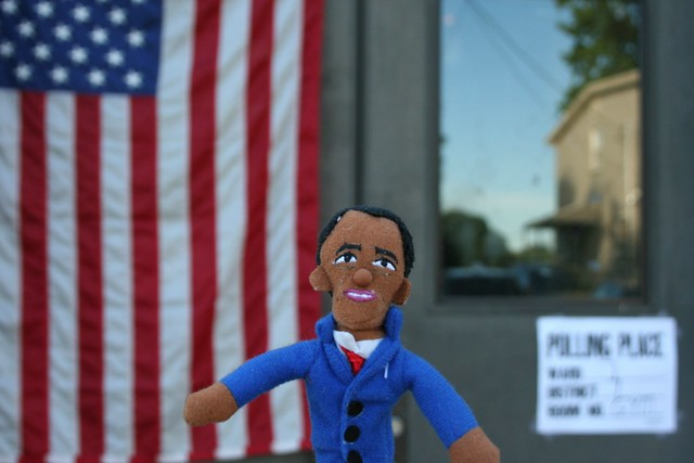 Barack Obama Spotted In Nutley On Election Day