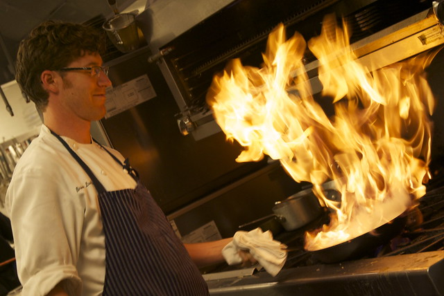 Brian Landry of Borgne Restaurant