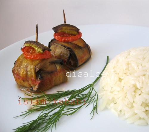 islim(patlıcanlı çöp)kebabı
