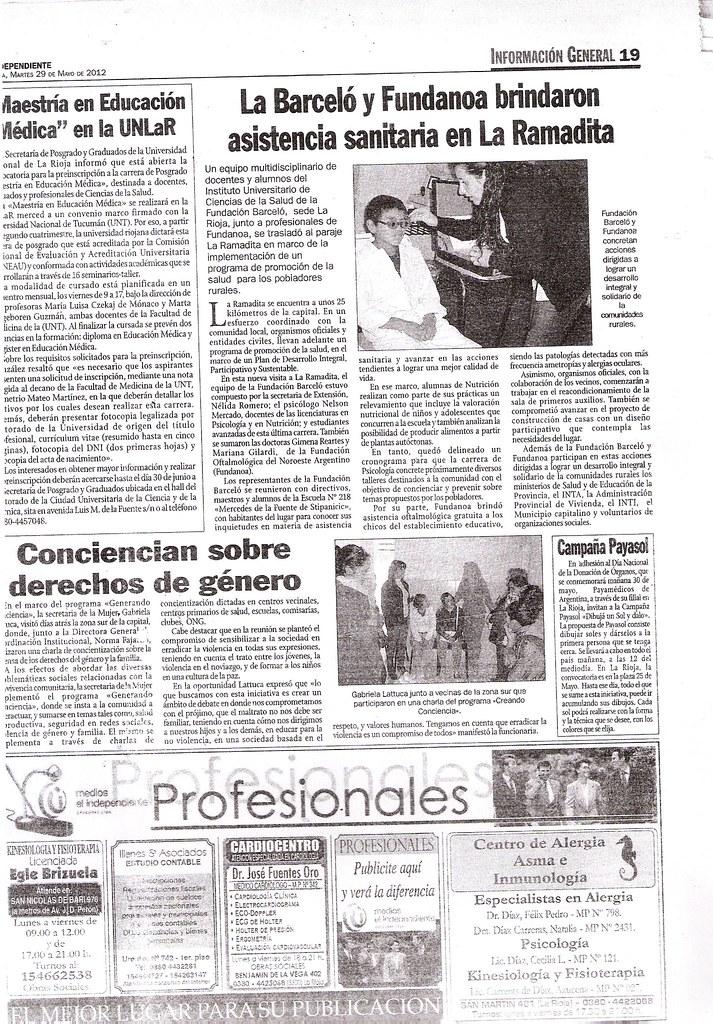 Diario El Independiente 29 de mayo