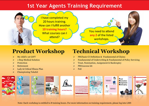 1st Yr agent training requirement