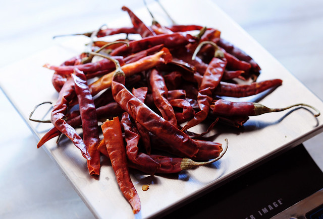 chiles de arbol... spicy!
