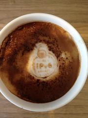 Today's latte, World IPv6 Launch.