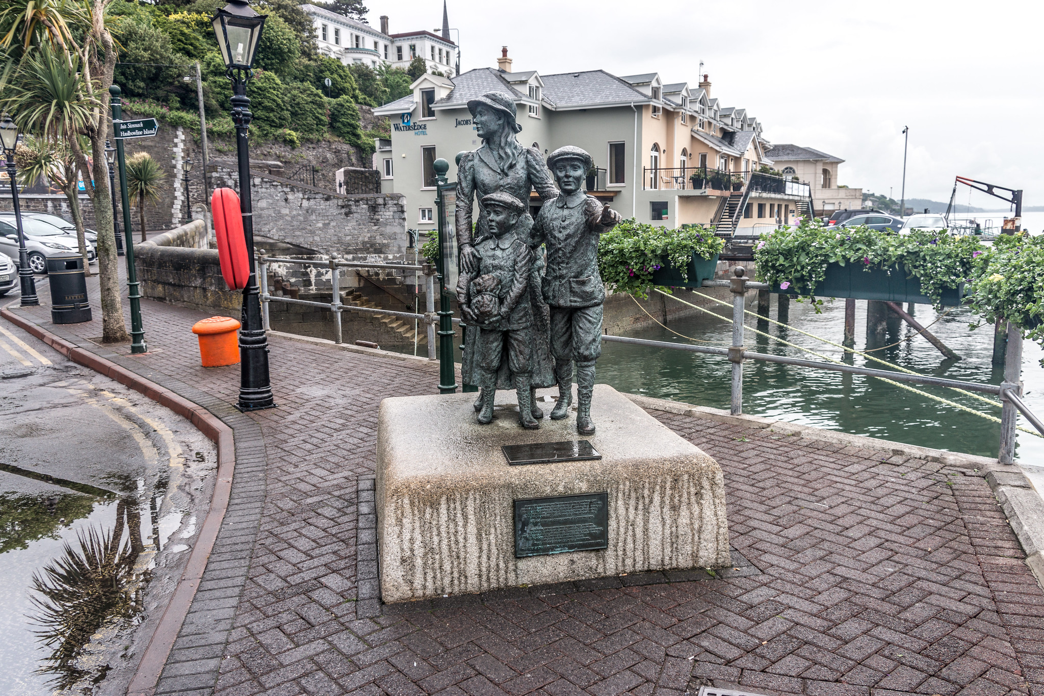 Annie Moore Memorial In Cobh Cork Flickr Photo Sharing