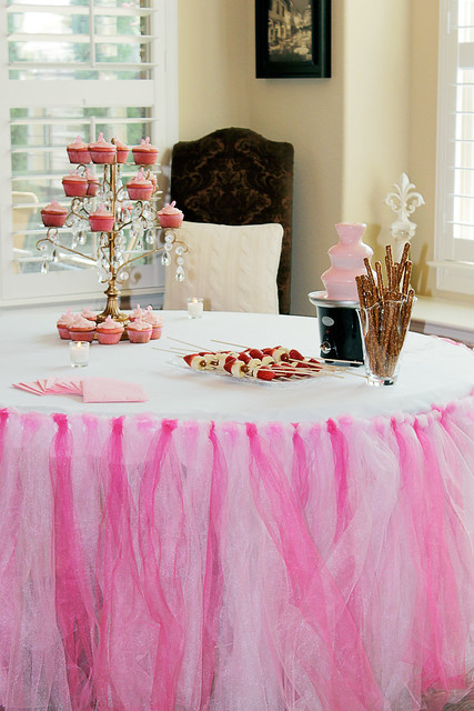 baby shower tutu table cloth flickr photo sharing