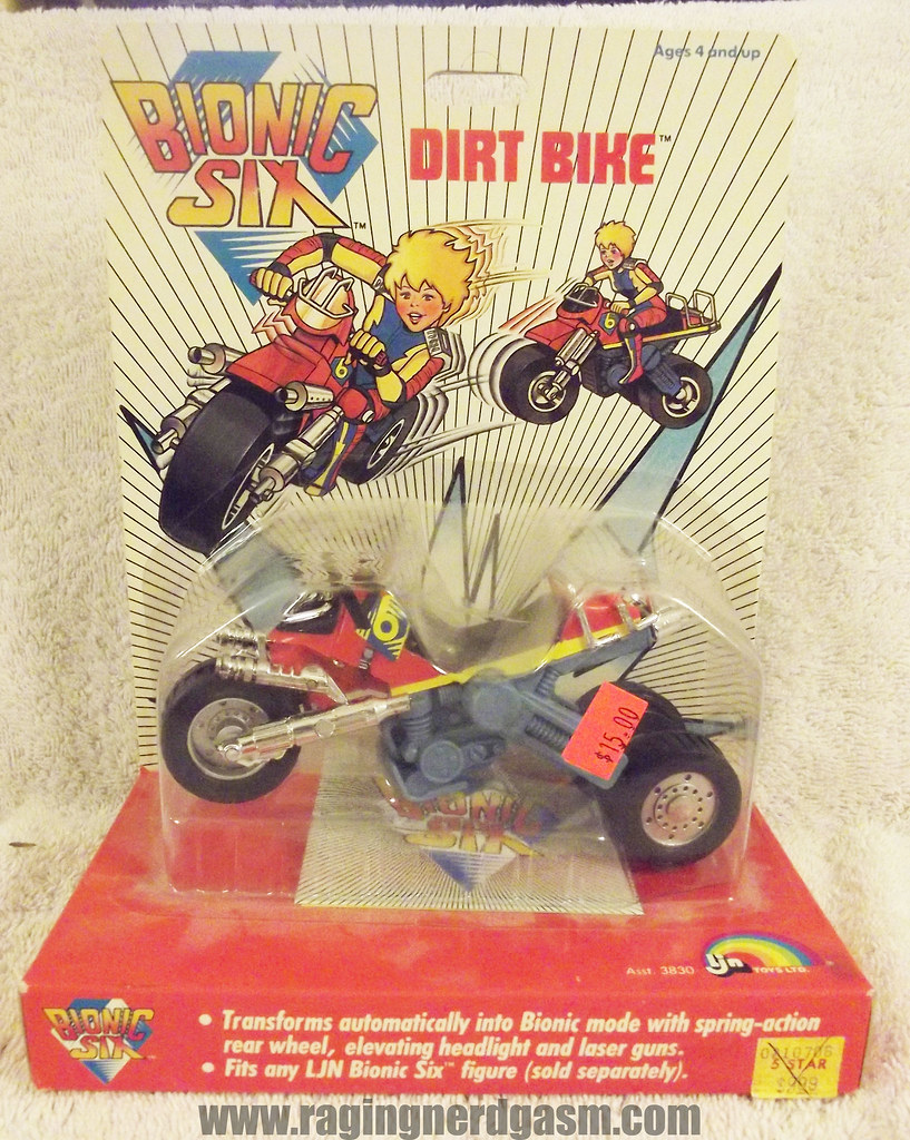 Dirt Bike from Bionic Six by LJN