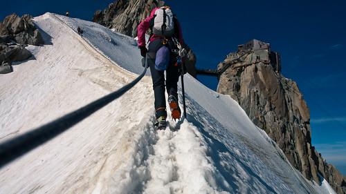 Back up the ridge