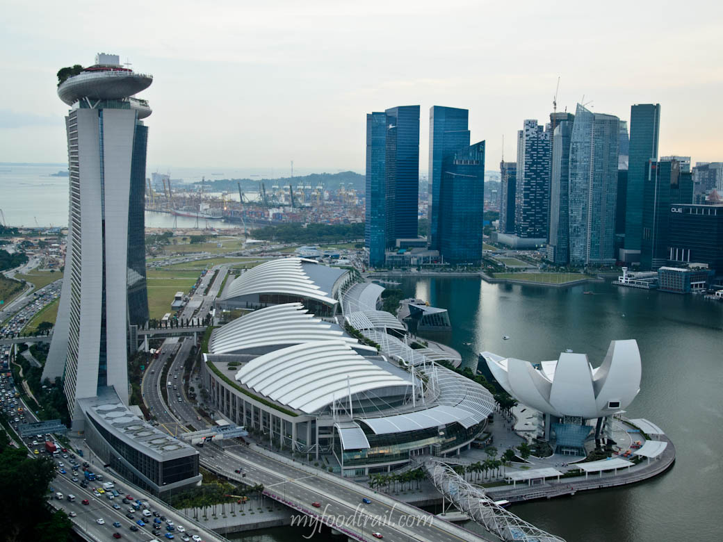 Marina Bay Sands area, Singapore