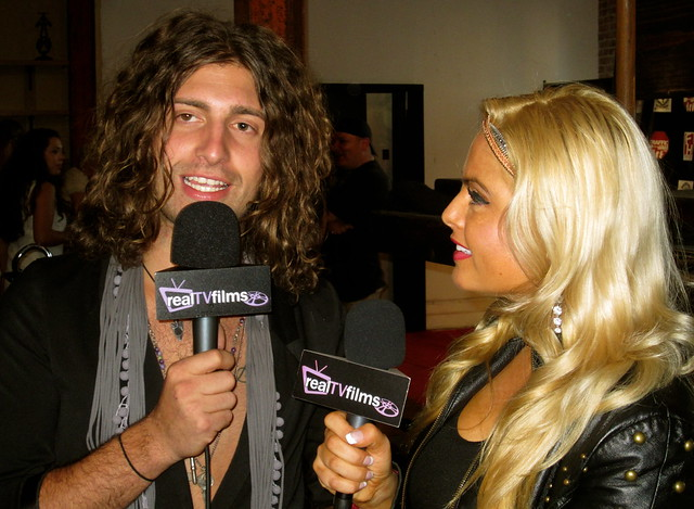 Cody Jasper, Tia Barr, Backstage Artist Lounge Party