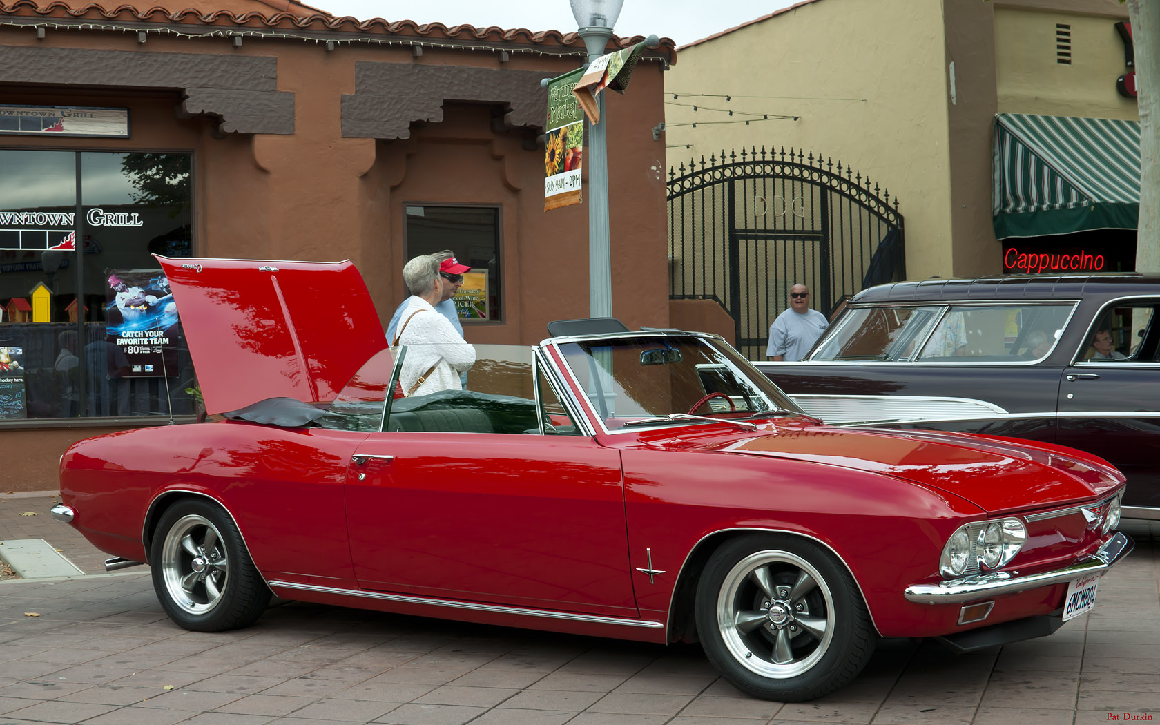 All Chevy chevy corvair monza : 1967 Chevrolet Corvair Monza Convertible - Bolero Red - fvr ...