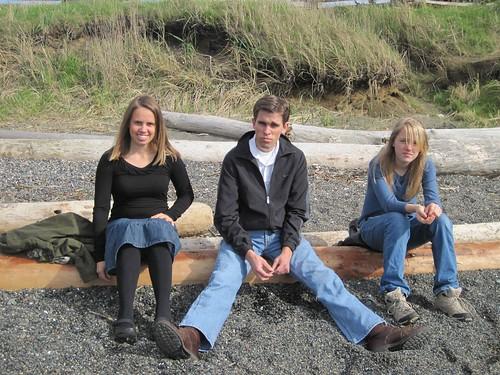 Three Bumps on a Log